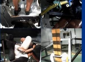 汽车碰撞试验视频